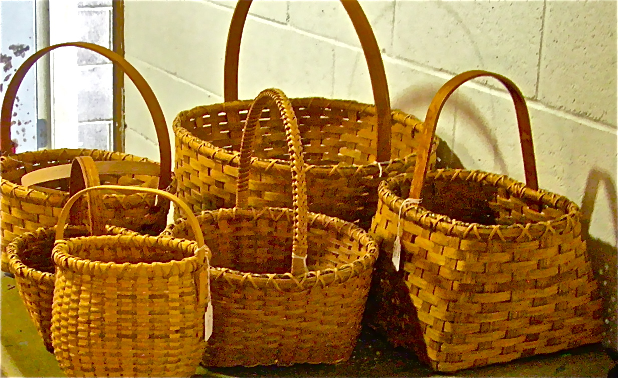 How To Weave A Cane Basket : Basket weaving work the art junction