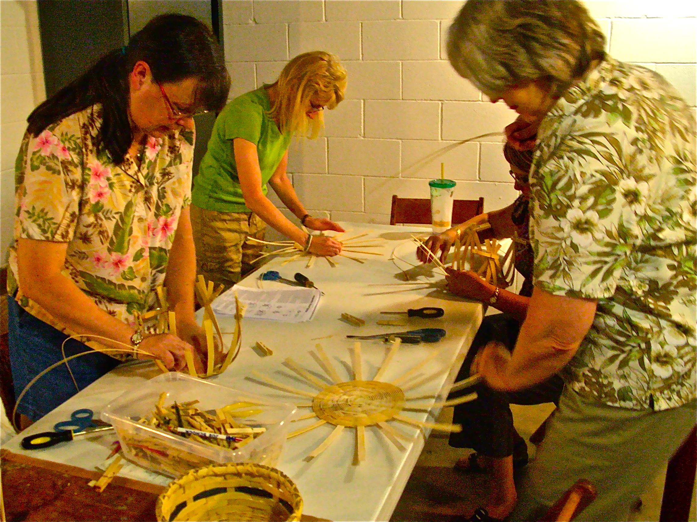 Basket Weaving Groups : Basket weaving work the art junction