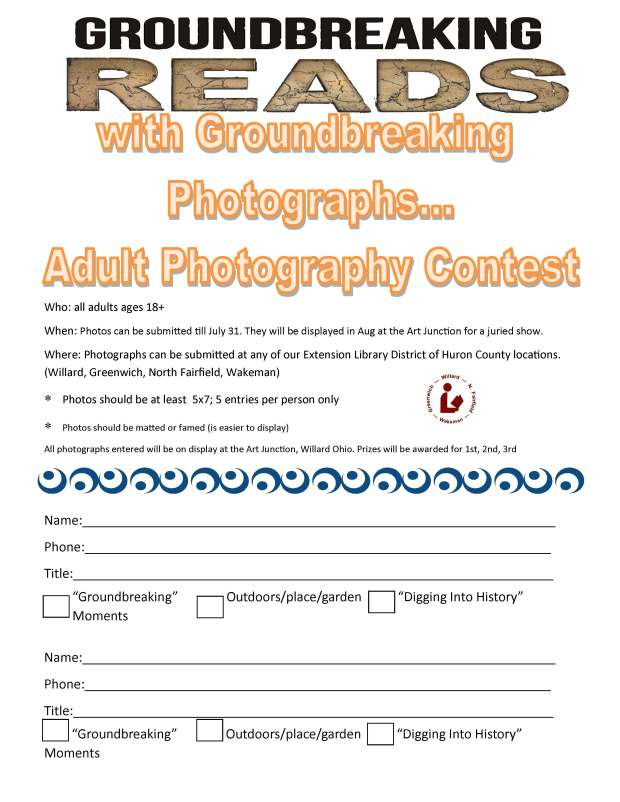 photo contest entry form