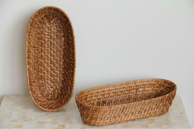 rattan_bamboo_bread_basket_nice_weaving_rattan