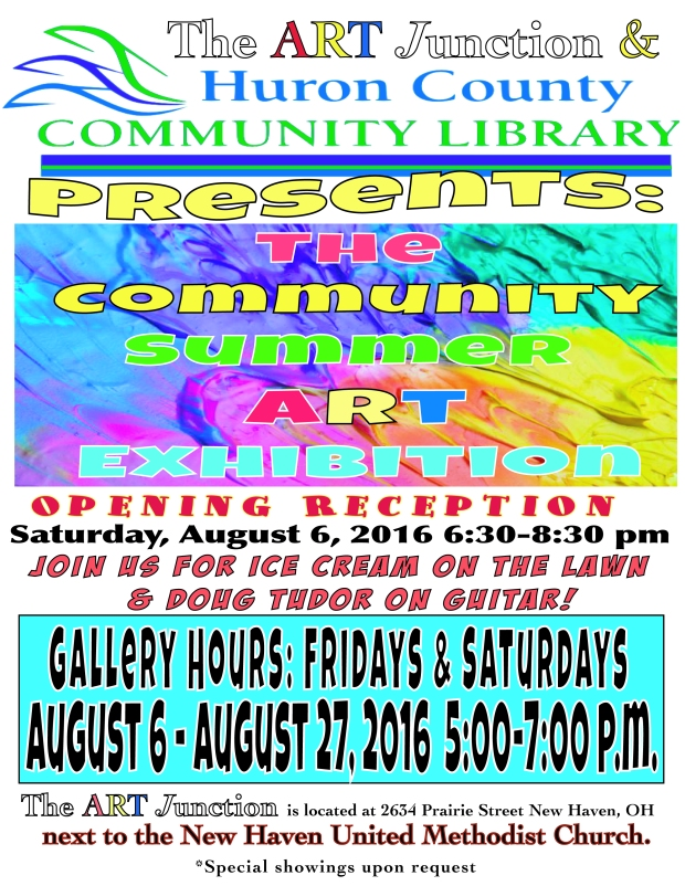 2016 Summer Art Exhibit