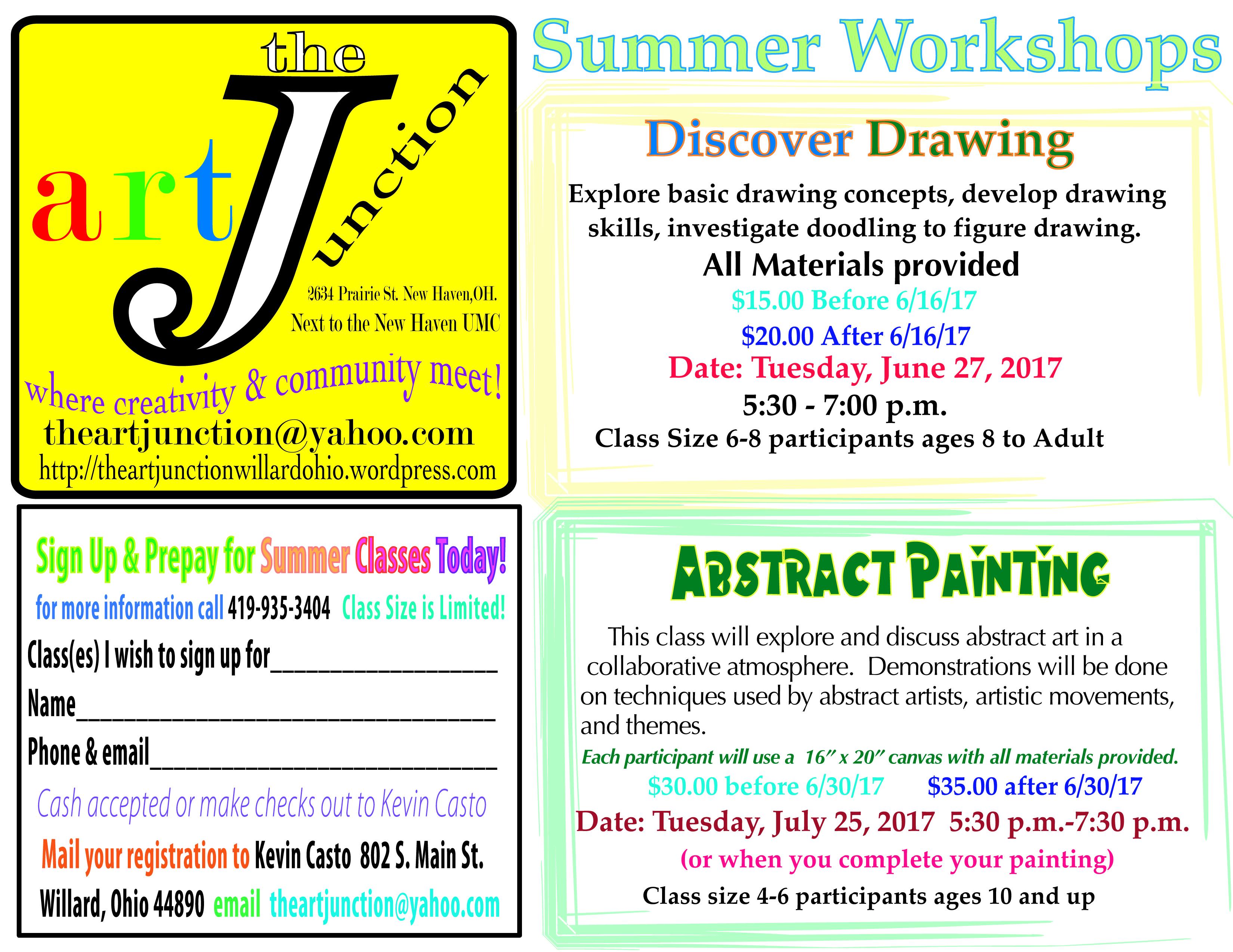 Summerworkshops'17