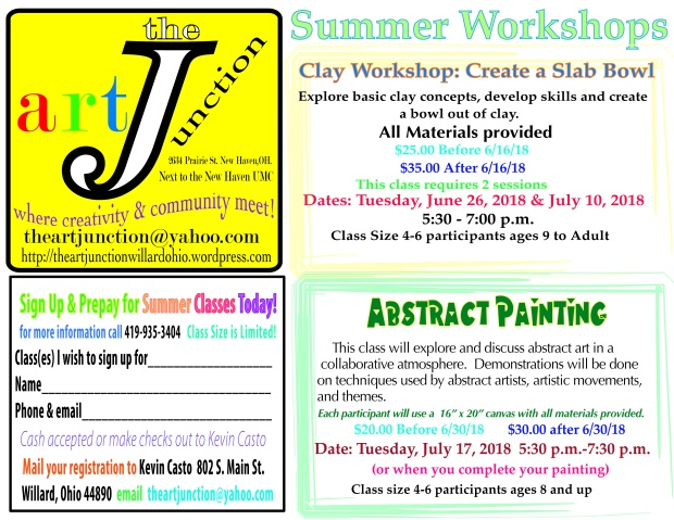 Summerworkshops'18