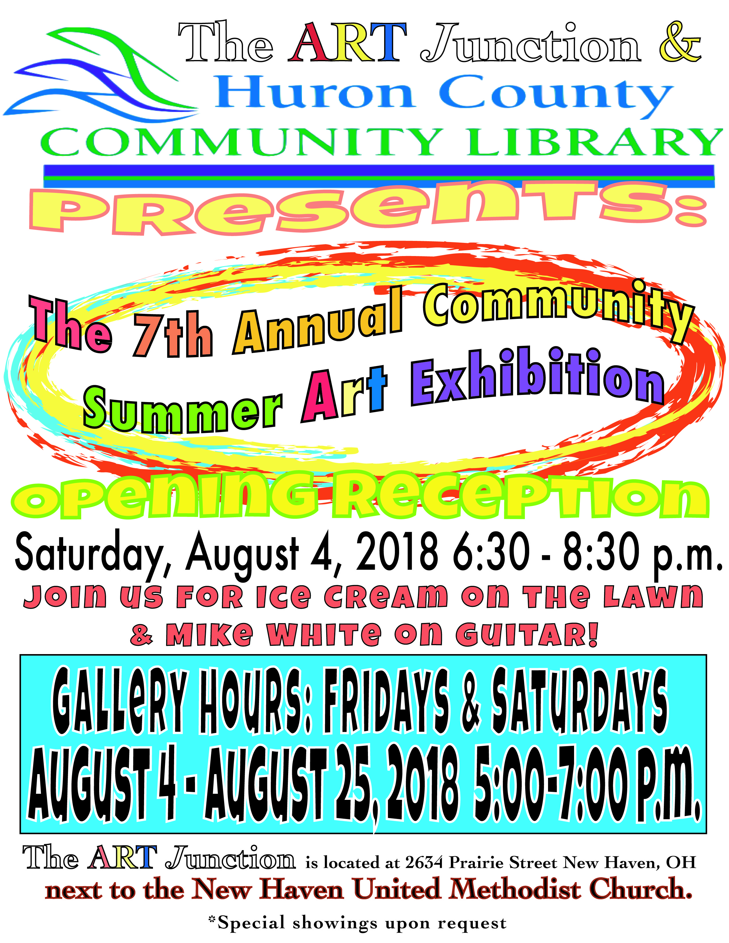 2018 Summer Art Exhibit