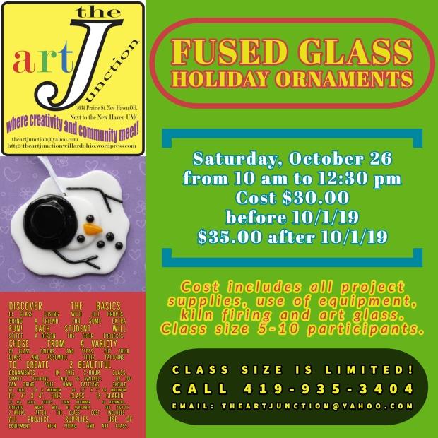 fusedglass holiday